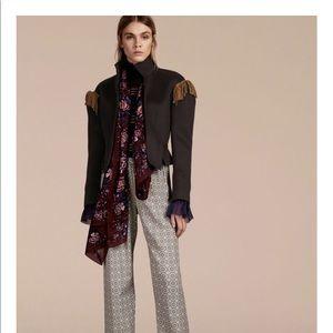 NWT Burberry 100% silk scarf